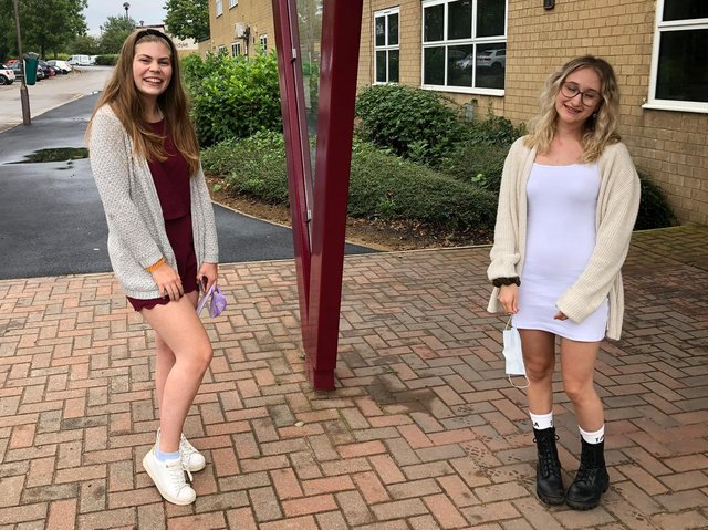 Vandkye A-level students