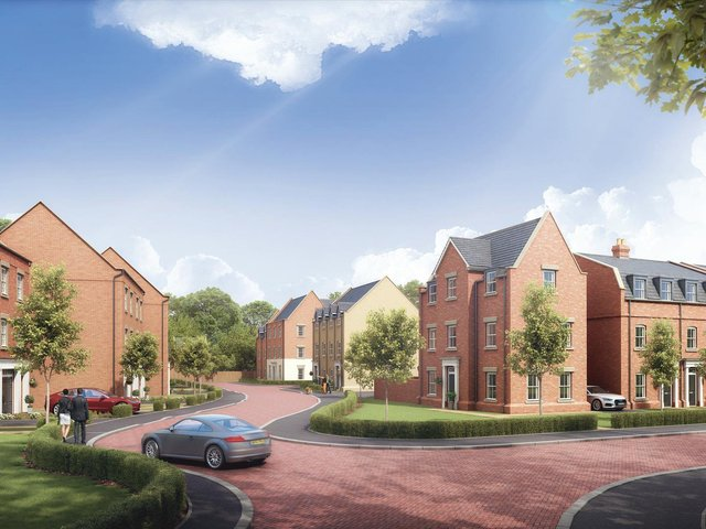 A stunning property in an exclusive development
