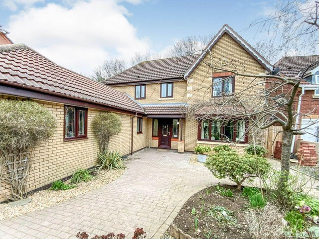 A deceptively large, five bedroom, detached family home.
