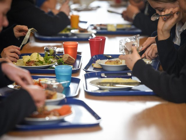 Department for Education figures suggest that the pandemic led to a spike in the number of youngsters qualifying for free school meals