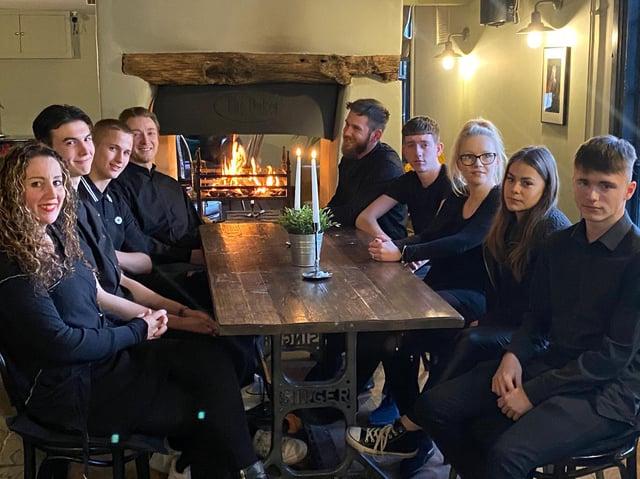 Sarah's team at The Dukes