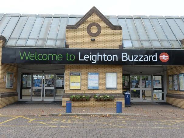 Leighton Buzzard train station.