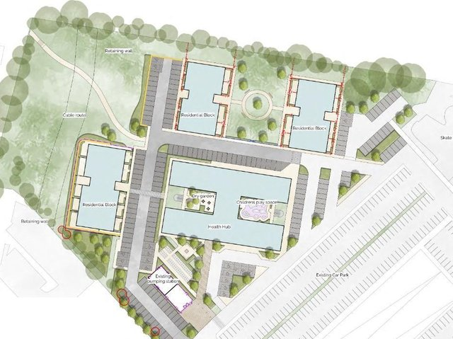 Work on the Dunstable Health Hub is expected to begin next month