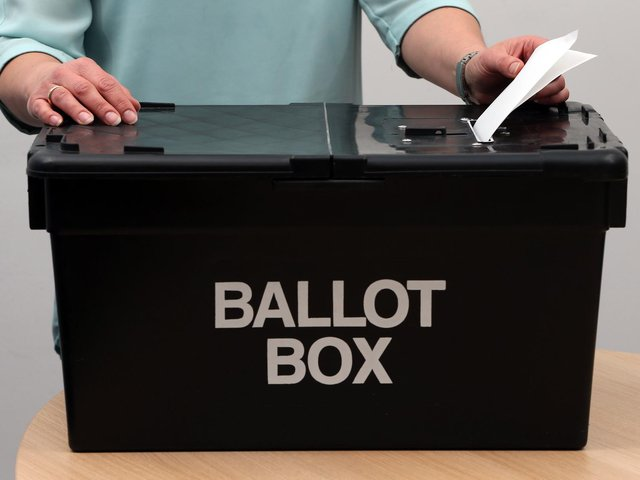 The Bedfordshire PCC election is on May 6