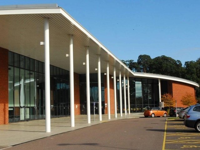 Central Bedfordshire Council's head office at Chicksands