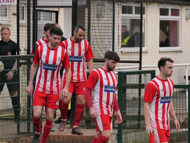 Pictures of Leighton Town's quarter-final game with Walsall Wood by Andrew Parker