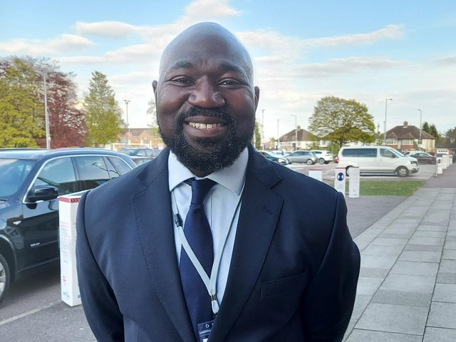 Festus Akinbusoye has been elected as Bedfordshire PCC
