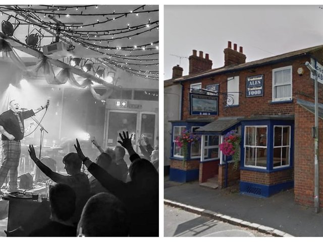 The Crooked Crow Bar and The White Horse. Photos: Crooked Crow Bar/Google.