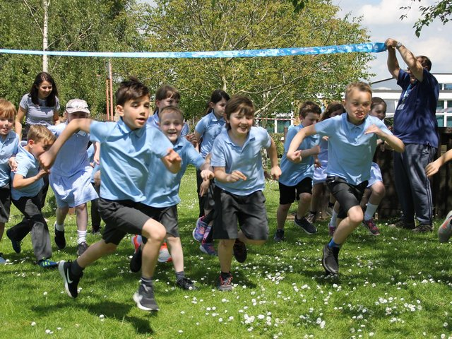 The Race For Life event at Linslade Lower. More pictures in the June 8 issue of the  LBO.