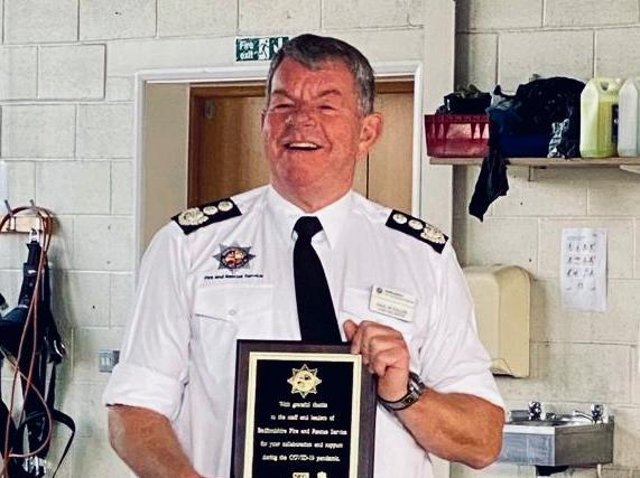 Chief Fire Officer Paul Fuller CBE has sadly passed away at the age of 61