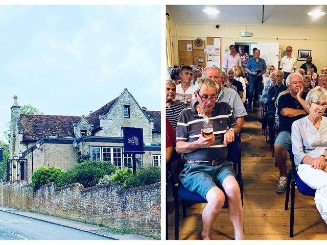 The Stag; the meeting in July 2019. Photos: The Stag.