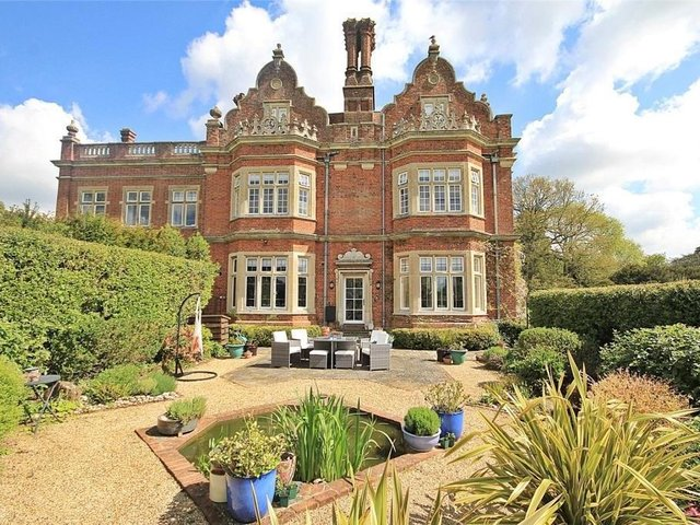 This two-bedroom apartment in Westoning Manor House is accepting offers above £650,000.