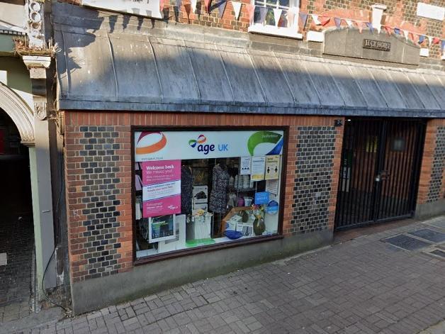 Age UK, Leighton Buzzard. Photo: Google Maps.