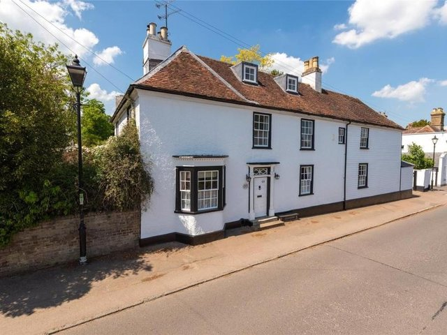 This stunning farmhouse is accepting offers over £800,000