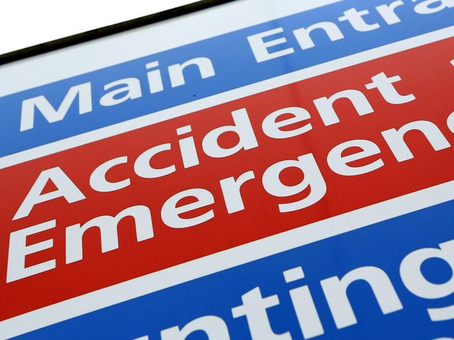 NHS England figures show 21,262 patients visited A&E at Bedfordshire Hospitals NHS Foundation Trust in June