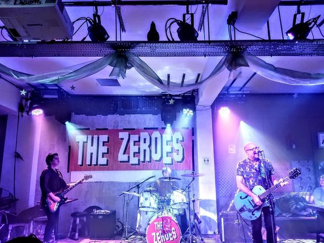 The Zeroes. Photo: The Crooked Crow Bar.